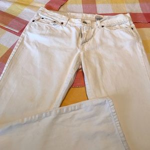 Lucky Dungaree white classic jeans